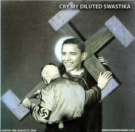 Clinton Fein: Cry My Diluted Swastika, August 2009